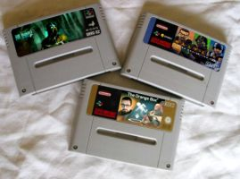 Super Nintendo Rare Games by archnophobia