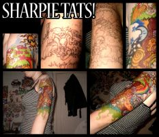 Sharpie Sleeve by MelissaDalton