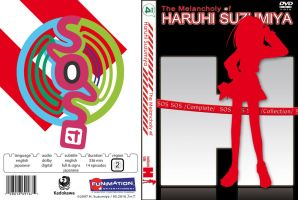 Haruhi Suzumiya DVD Cover by night-wolf23