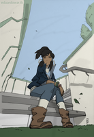 Korra - Colored by eduardowar