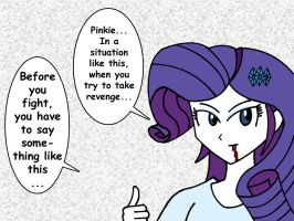 My name is Rarity... by Combatkaiser