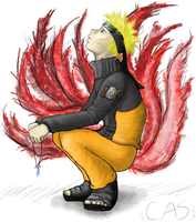 Naruto, the struggle inside by littlecasaroo