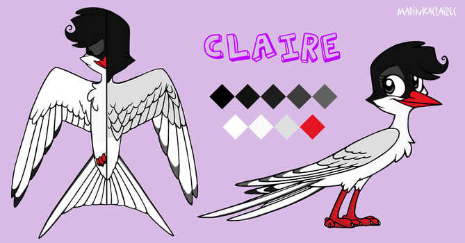 Claire ref by MadinkaClaireC