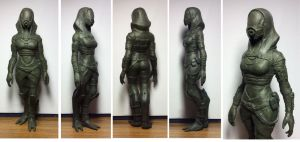 Tali sculpture (6) by spaceMAXmarine