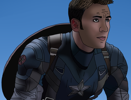 Steve Rogers by oh-mrwinchester-oh