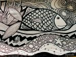 Zentangle fish by Dyda81