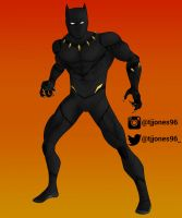 Black Panther by TJJones96