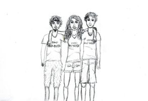 PJO Trio by 1-Lilith-1