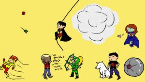 Young Justice INVADES desktop by Nefferduat