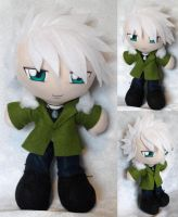 Commission, Plushie Toshiro Hitsugaya, Winter Coat by ThePlushieLady