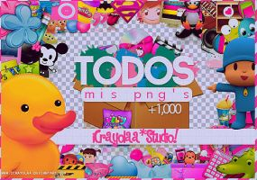 PACK - Todos mis pngs by iCrayolaa
