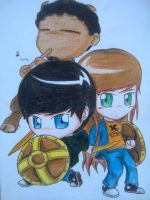 Percy Jackson Team by beanystergates
