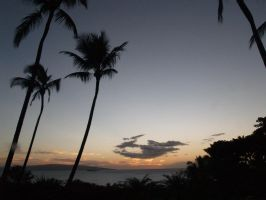 The sky of Maui by T6nnnu