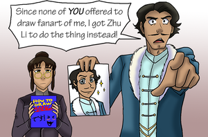 LoK - Varrick Commissions Fanart of Himself by yesile