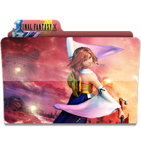Final Fantasy X Folder - Yuna by revenantSOULx3