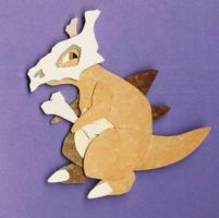 paper cubone by whatwith