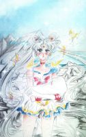 sailor moon  usagi tsukino - everything ended by zelldinchit