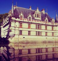 Azay-le-Rideau by breathinfreedom