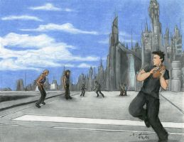 Stargate Atlantis Football by Nebulan