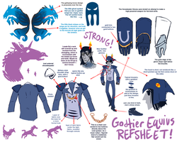 Equius Godtier reference by SabreBash
