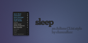 Sleep for Adium by chancellorr