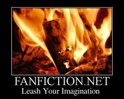 Fanfiction.net Book Burning by Rhov