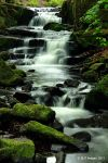Lumsdale Waterfall 3 by MichaelJTopley