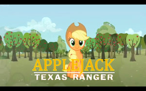 Applejack, Texas Ranger by SonictheHedgehogPL
