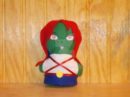 Miss Martian Mini Plushie by snowtigra