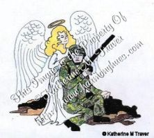 Guardian Angel of Army Man by Katrina1944