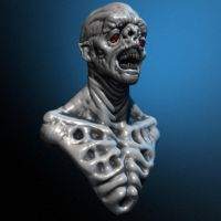 wtf?  Zbrush practice by Omar-Kamel