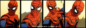 SPIDER GIRL IN YOUR FACE by WhiteFox89