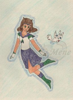 Sailor Spica and Togetic by mene