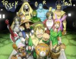 One Piece Halloween 2 by GarthTheUndying