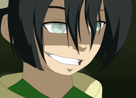 Toph BeiFong by vulpharos