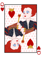 Queen Of Hearts by Jaizure