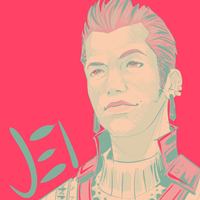 Balthier in 14 by Jack-Stark