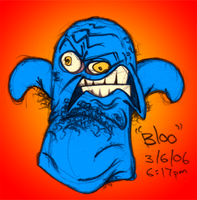 Bloo. by Russell-Reyes