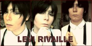 Levi Rivaille Cos-Test by LeatherAnd-Chocolate