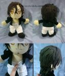 Commission - Rayflo plushie by fer-nanda-ssk