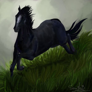 Running In The Grass by Samyki