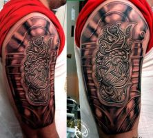 celtic complete by DallierTattoo