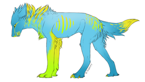 Canine adopt 4 - TAKEN by Redbell9