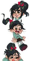 Vanellope Von Awesome by onlyahalfbreed