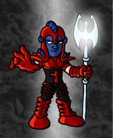 Mini Marvels - Scarlet Centurion by ZappaZee