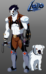 Lobo The Animated Series/Redesign by Bobkitty23