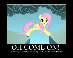 Fluttershy Motivational by CrossoverPrincess