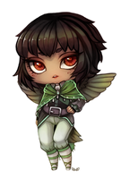 Collis - Chubby Chibi Commission by clover-teapot