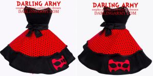 Miraculous Ladybug Cosplay Skirt by DarlingArmy
