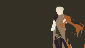 Kraft Lawrence/Holo {Spice and Wolf} by greenmapple17